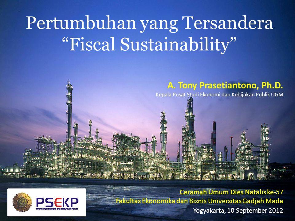 Pertumbuhan yang Tersandera Fiscal Sustainability