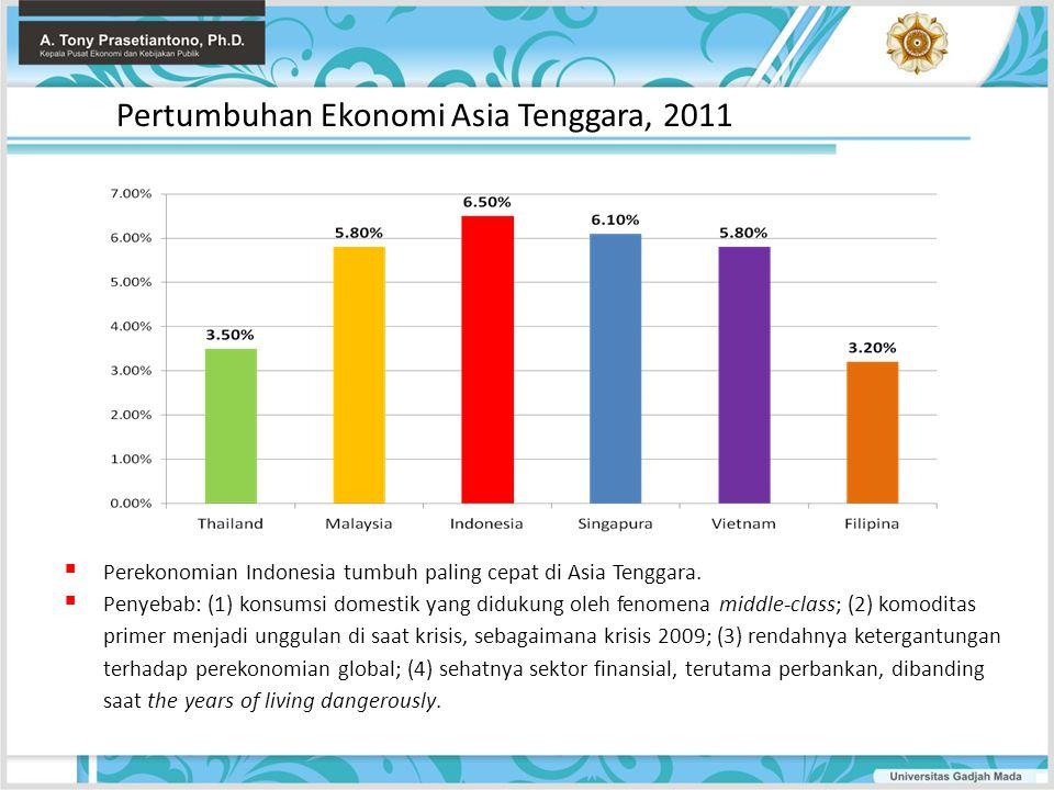 Pertumbuhan Ekonomi Asia Tenggara, 2011