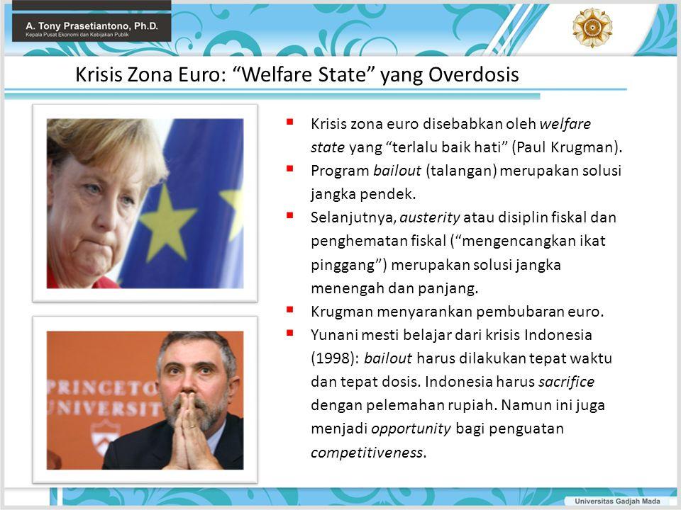 Krisis Zona Euro: Welfare State yang Overdosis