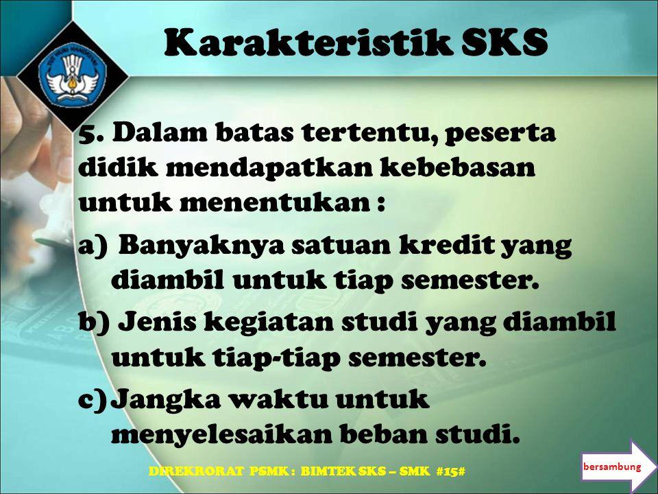 DIREKRORAT PSMK : BIMTEK SKS – SMK #15#