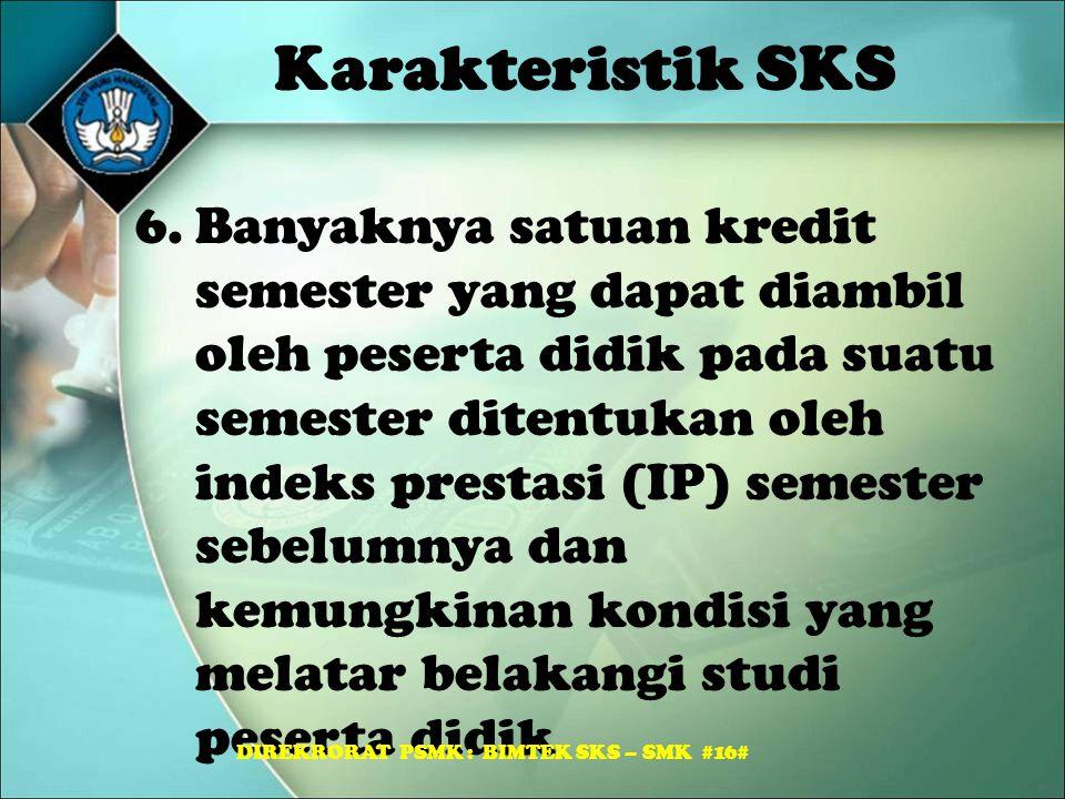 DIREKRORAT PSMK : BIMTEK SKS – SMK #16#