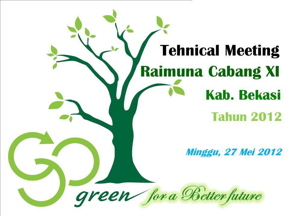 Tehnical Meeting Raimuna Cabang XI Kab. Bekasi Tahun 2012
