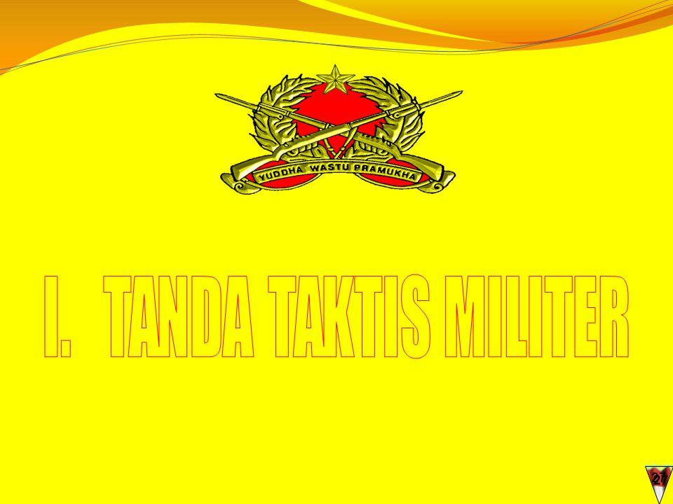 I. TANDA TAKTIS MILITER 27 27