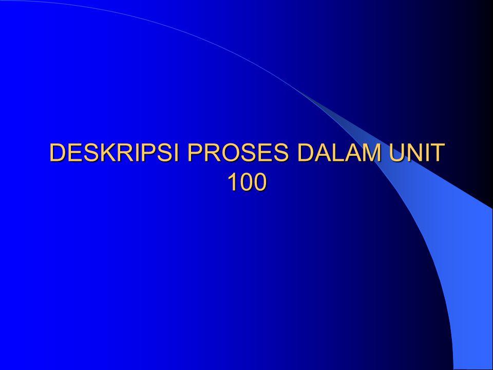 DESKRIPSI PROSES DALAM UNIT 100