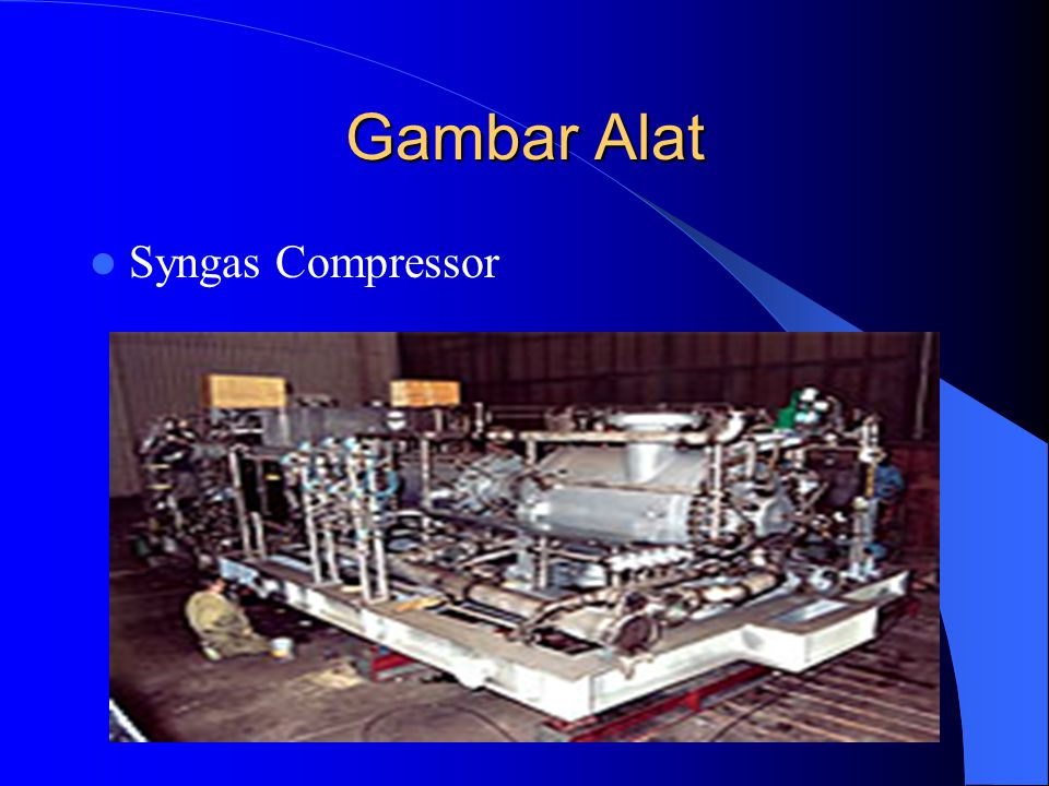 Gambar Alat Syngas Compressor