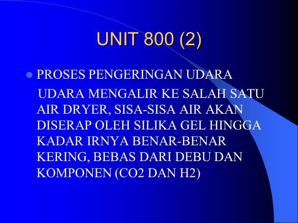 UNIT 800 (2) PROSES PENGERINGAN UDARA