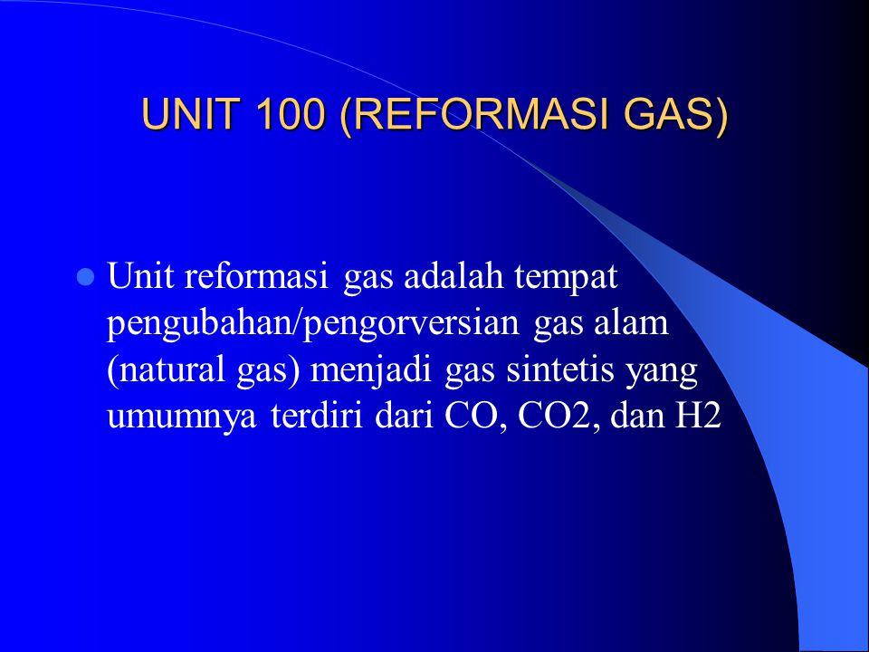 UNIT 100 (REFORMASI GAS)