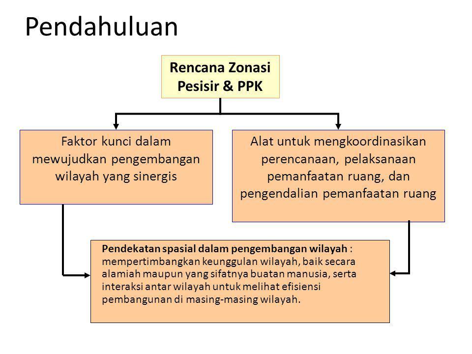 Rencana Zonasi Pesisir & PPK