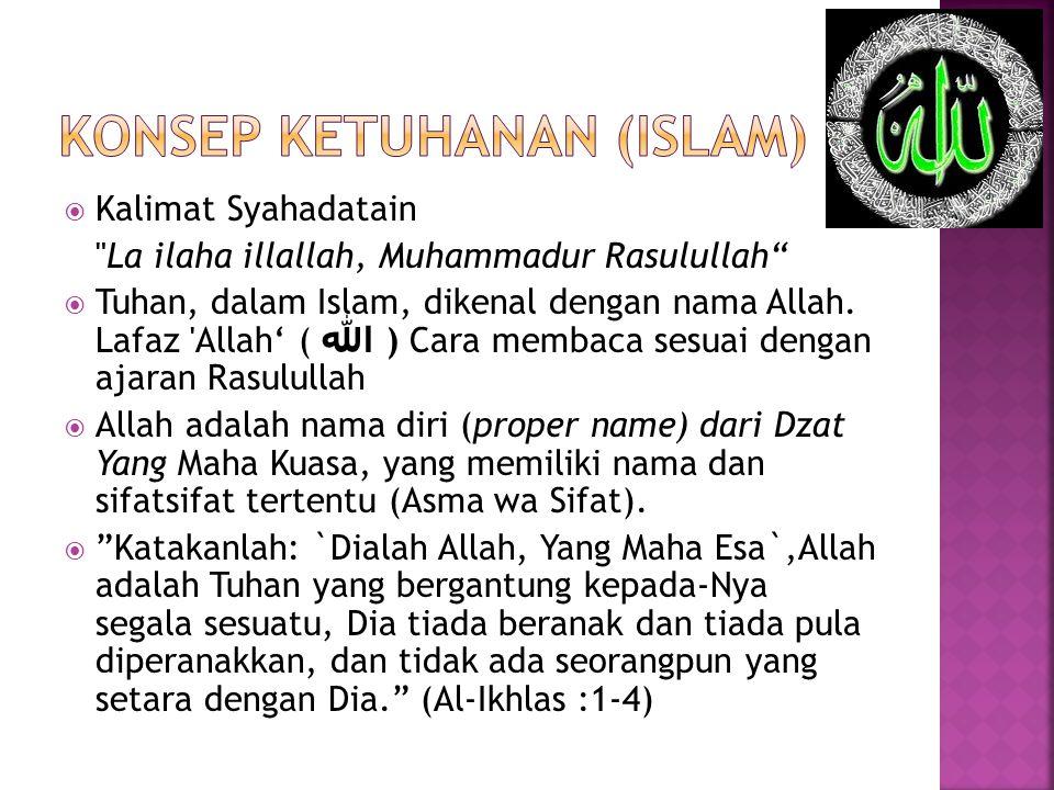 Konsep ketuhanan (islam)