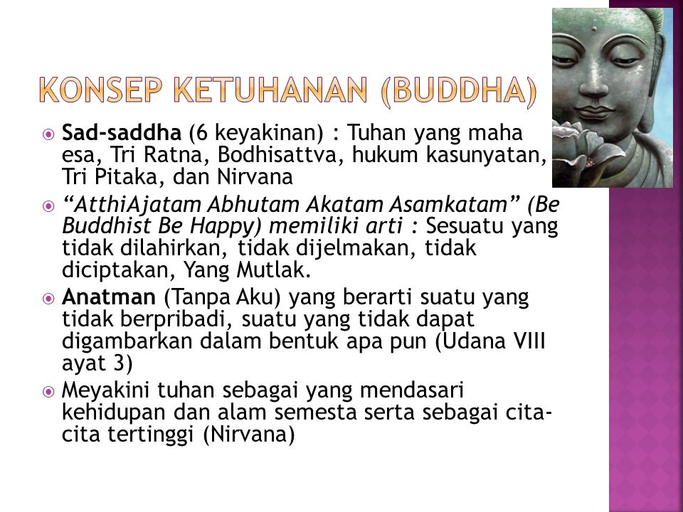 Konsep ketuhanan (buddha)