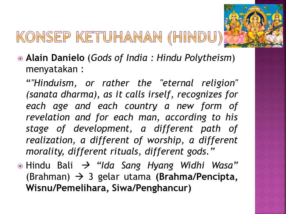 Konsep ketuhanan (hindu)