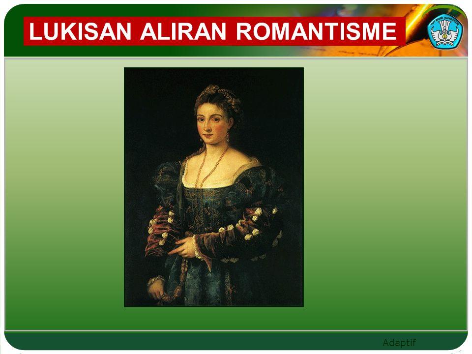 LUKISAN ALIRAN ROMANTISME