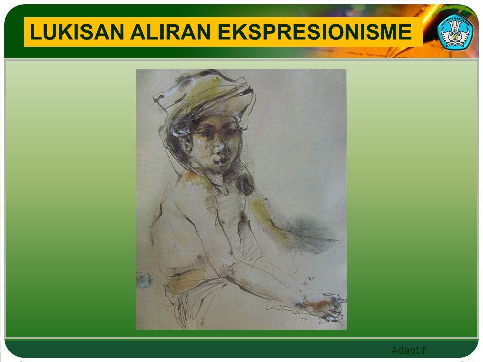 LUKISAN ALIRAN EKSPRESIONISME