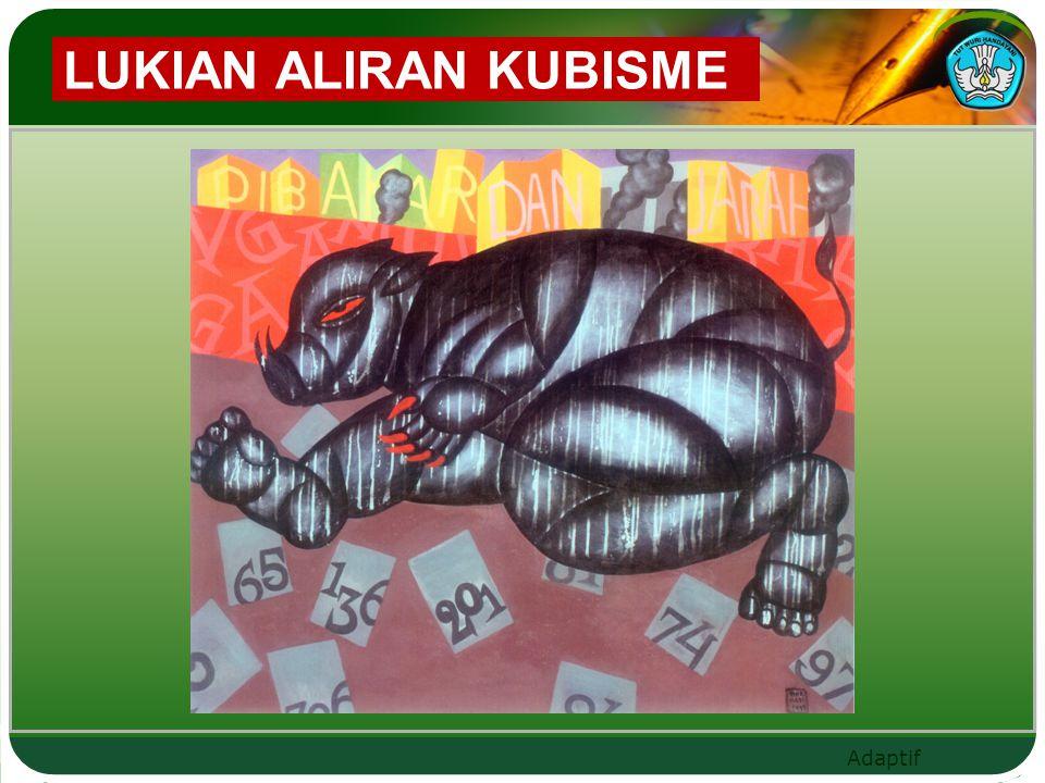 LUKIAN ALIRAN KUBISME