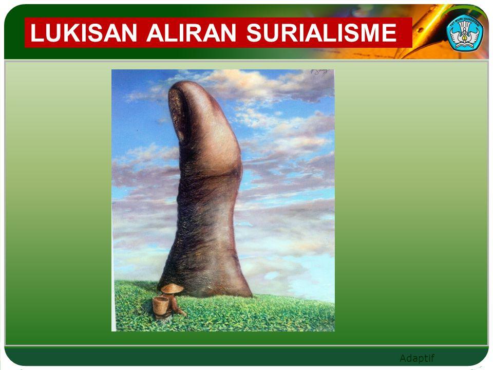 LUKISAN ALIRAN SURIALISME