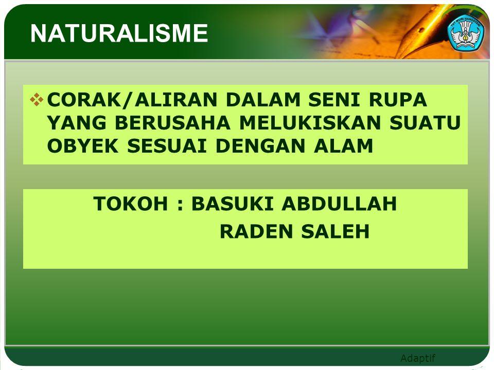 TOKOH : BASUKI ABDULLAH