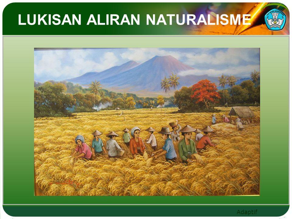 LUKISAN ALIRAN NATURALISME