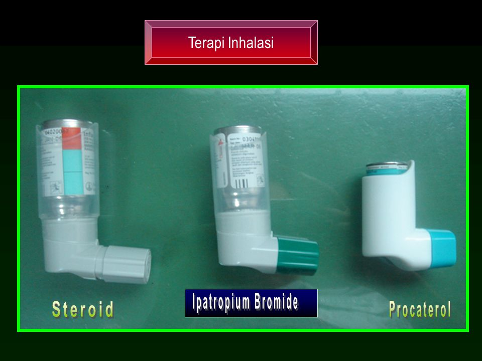 Terapi Inhalasi Ipatropium Bromide Steroid Procaterol