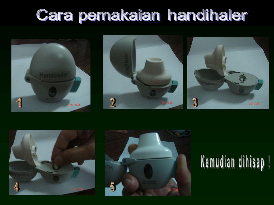 Cara pemakaian handihaler