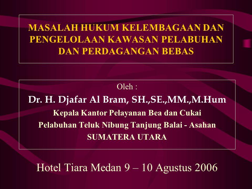 Hotel Tiara Medan 9 – 10 Agustus 2006