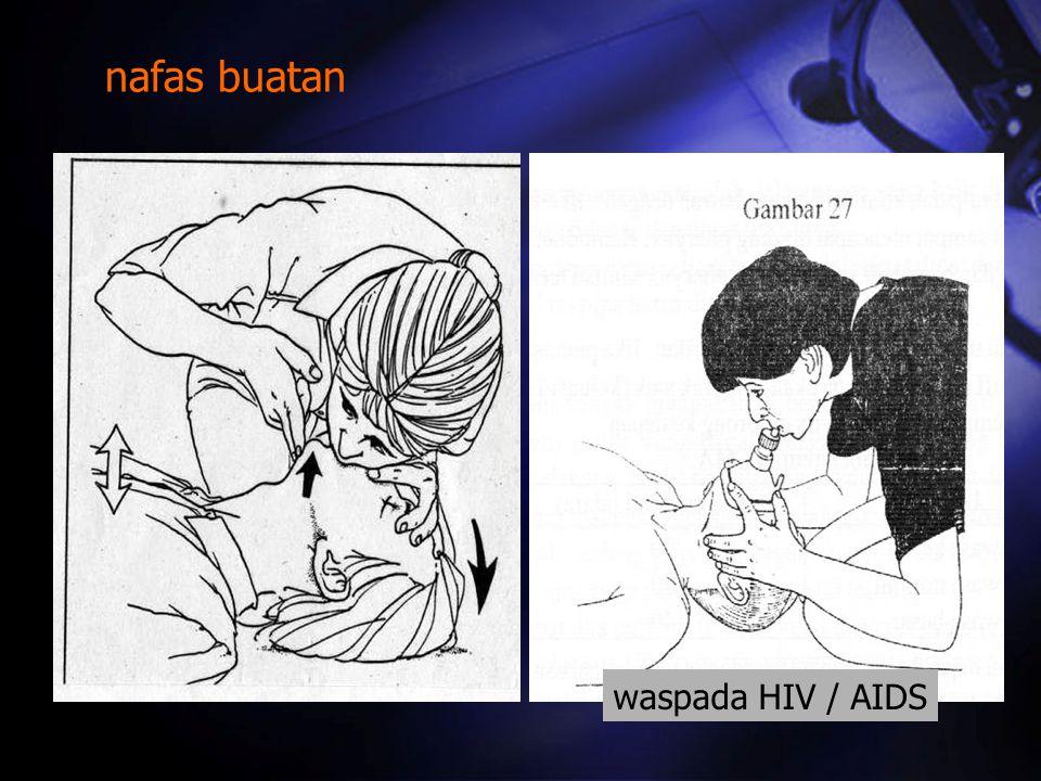 nafas buatan waspada HIV / AIDS