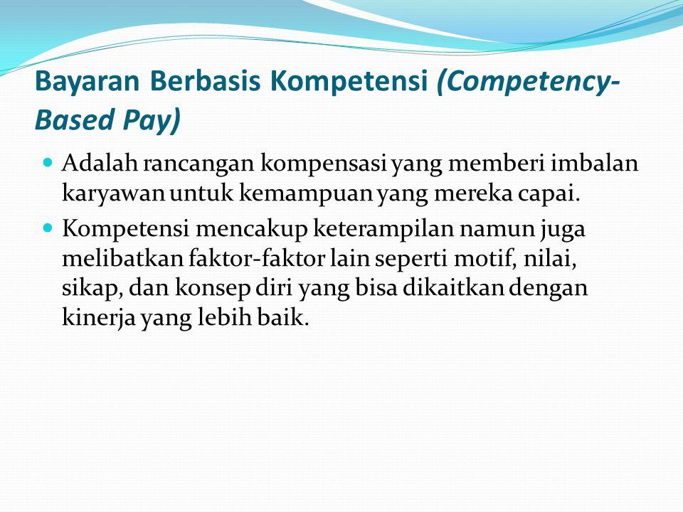 Bayaran Berbasis Kompetensi (Competency-Based Pay)