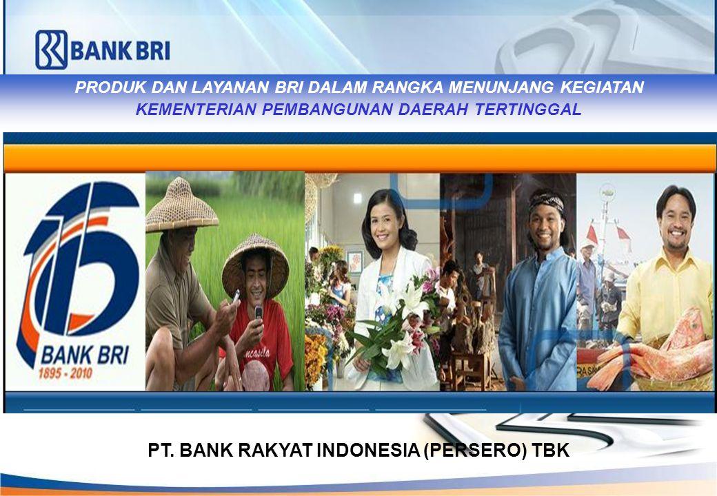 PT. BANK RAKYAT INDONESIA (PERSERO) TBK