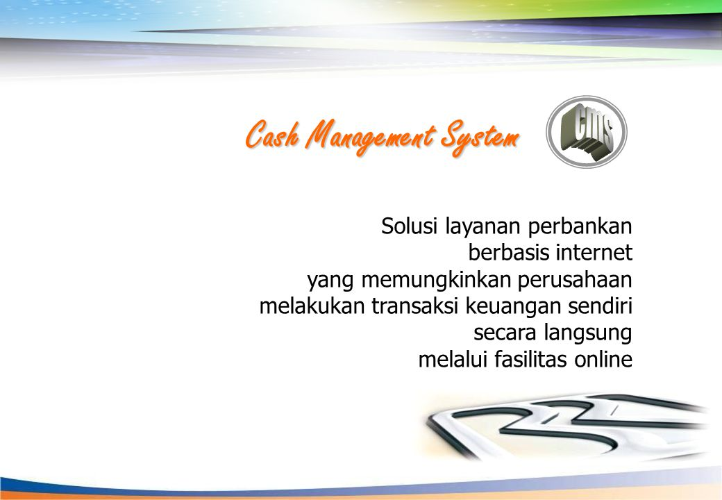 Cash Management System