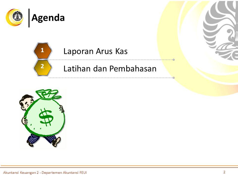 Agenda Laporan Arus Kas Latihan dan Pembahasan 1 2 3 4 5