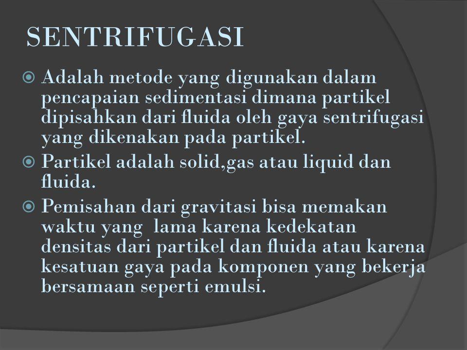 SENTRIFUGASI