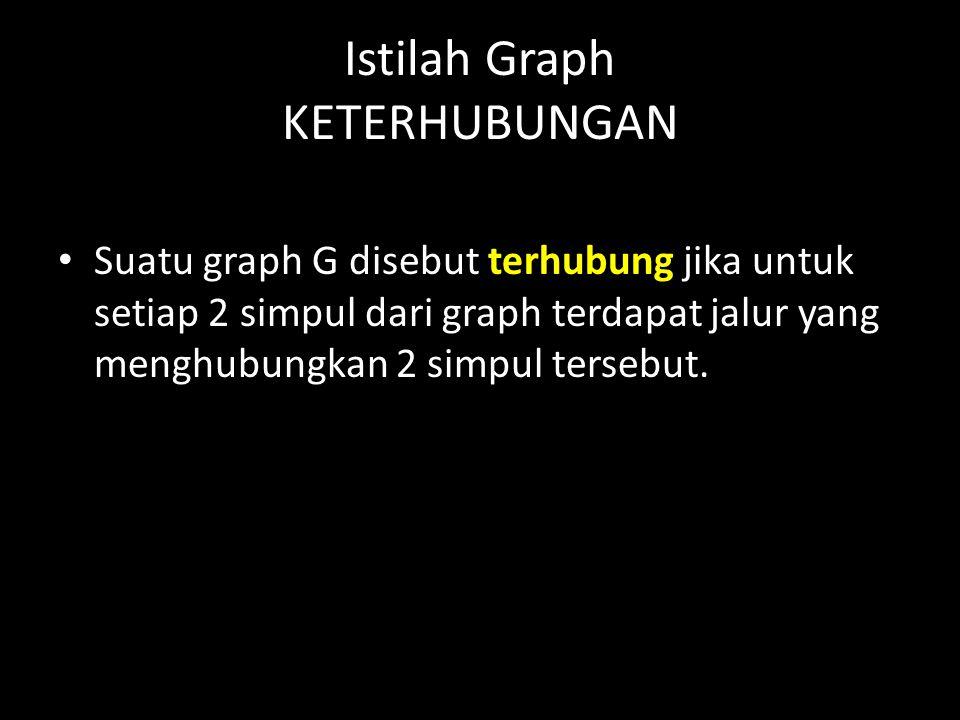 Istilah Graph KETERHUBUNGAN