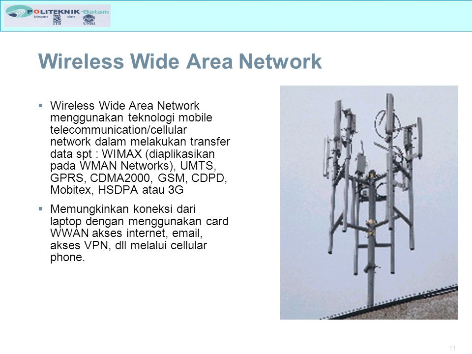 Wireless Wide Area Network