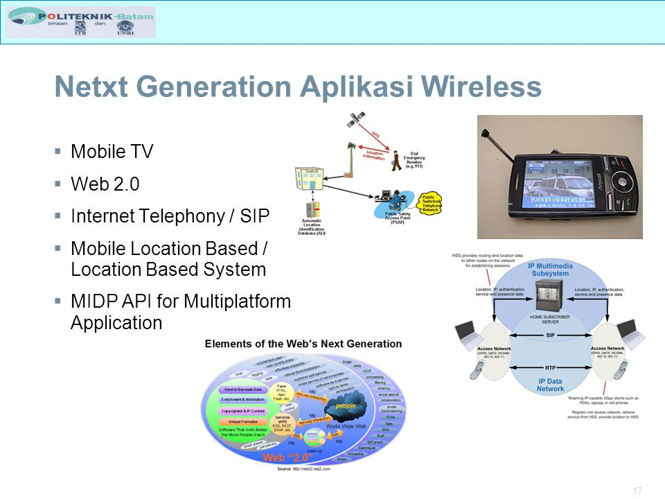 Netxt Generation Aplikasi Wireless