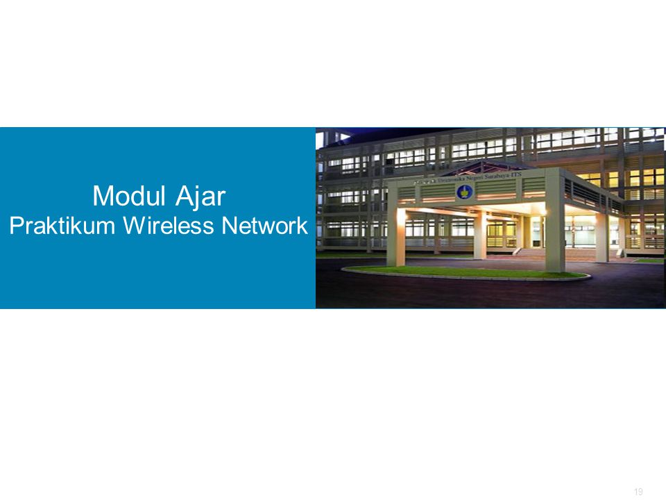 Modul Ajar Praktikum Wireless Network