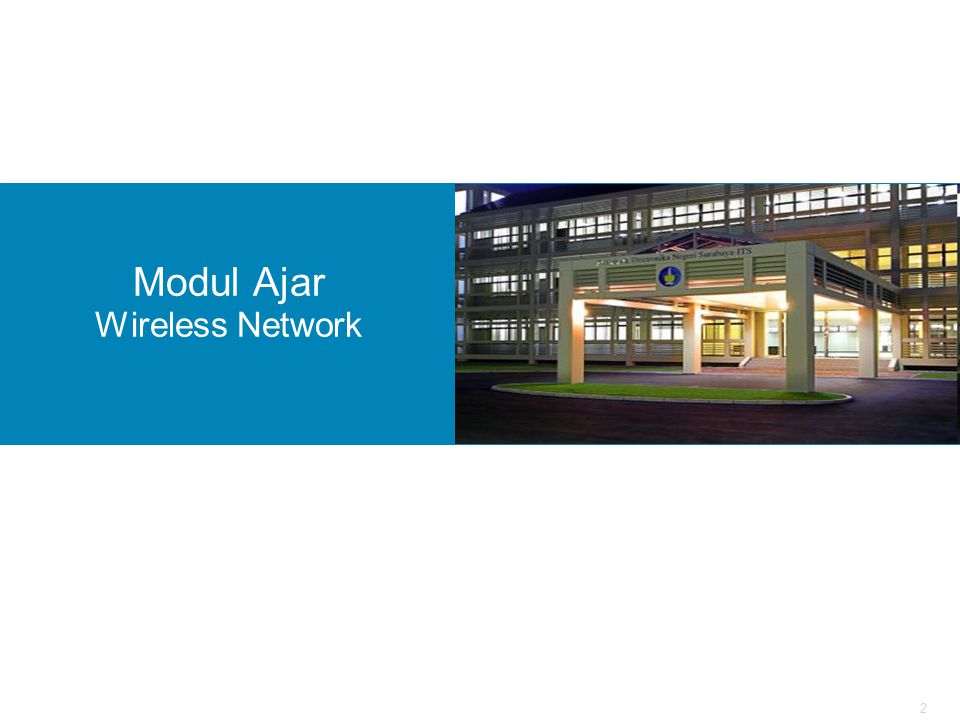 Modul Ajar Wireless Network
