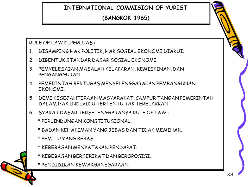 INTERNATIONAL COMMISION OF YURIST