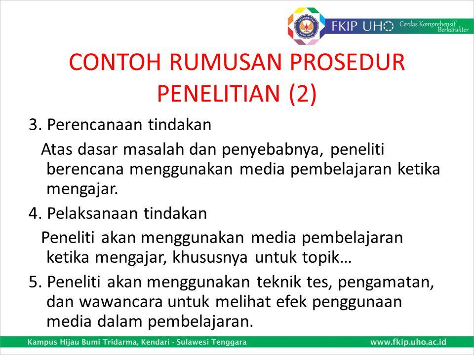 CONTOH RUMUSAN PROSEDUR PENELITIAN (2)