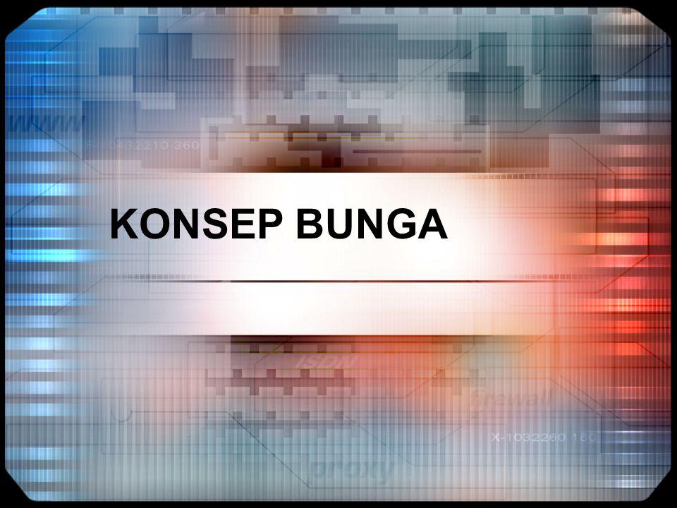 KONSEP BUNGA