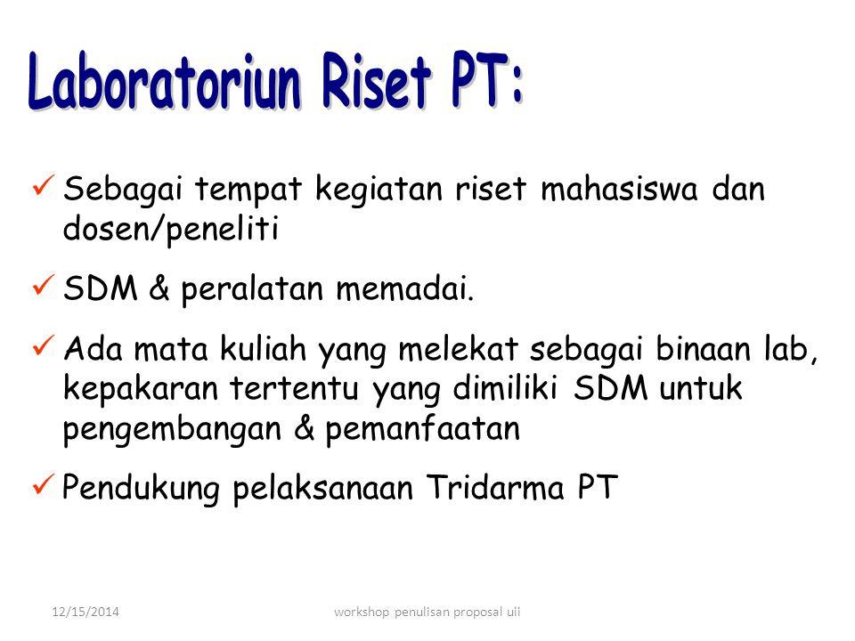 Laboratoriun Riset PT: