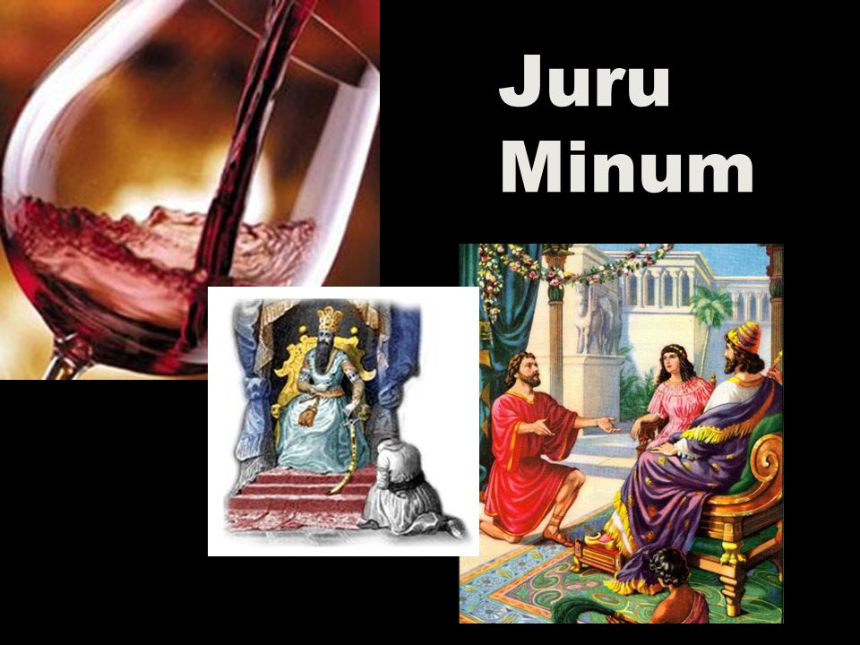 Juru Minum In those days I was the king's cup-bearer (11b).