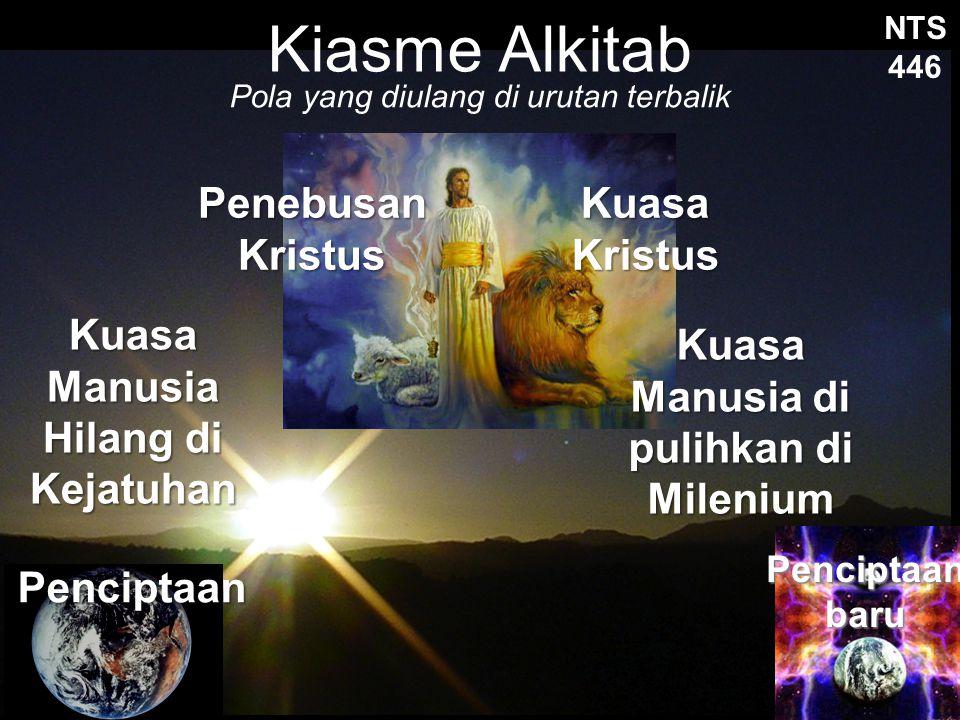 Kiasme Alkitab Penebusan Kristus Kuasa Kristus