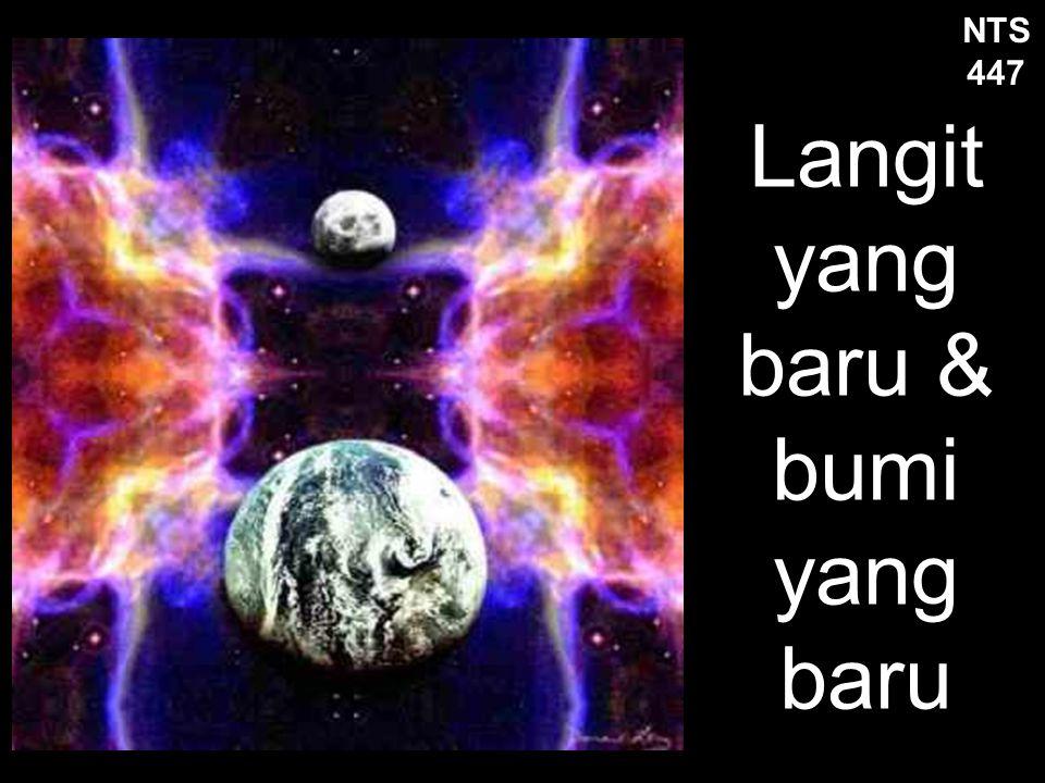 Langit yang baru & bumi yang baru