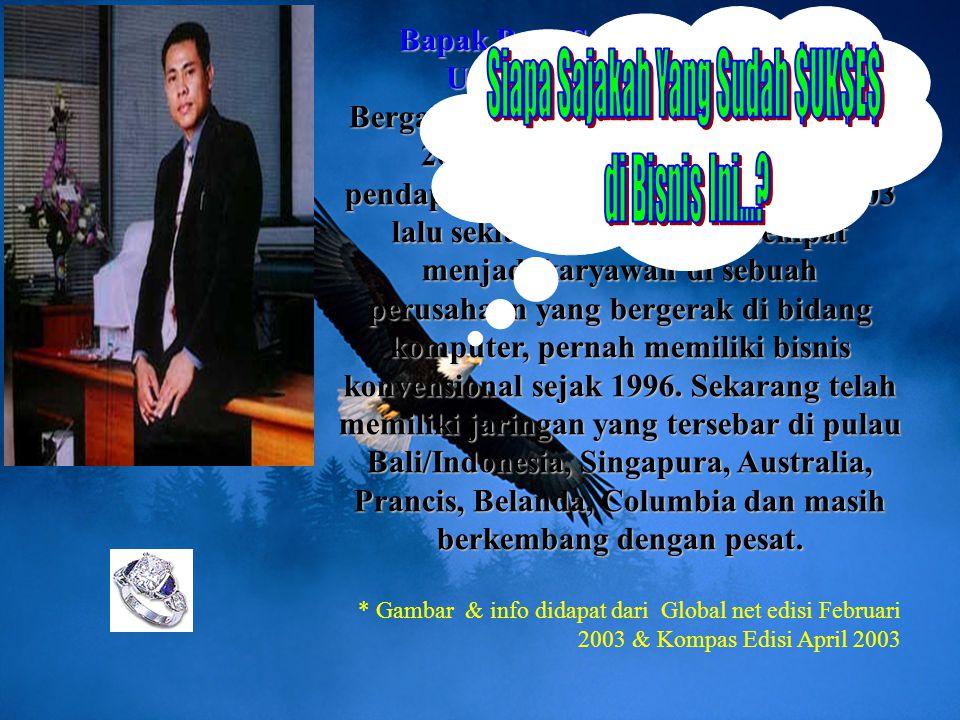 Bapak Putu Suarsana (MyPutu) Urutan 2 Indonesia - Bali
