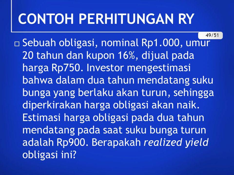 CONTOH PERHITUNGAN RY 49/51