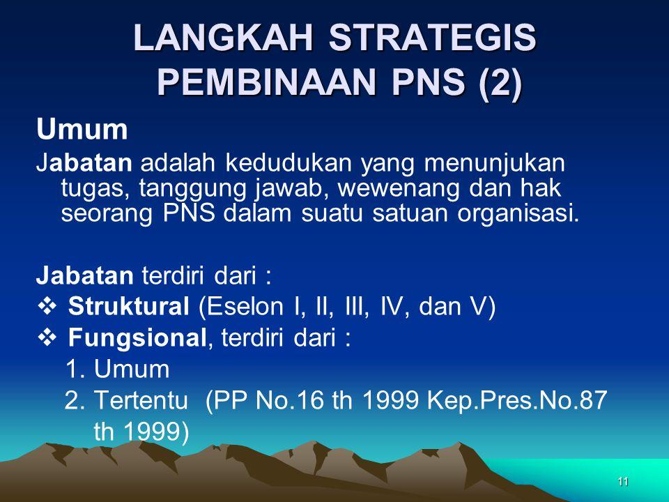 LANGKAH STRATEGIS PEMBINAAN PNS (2)