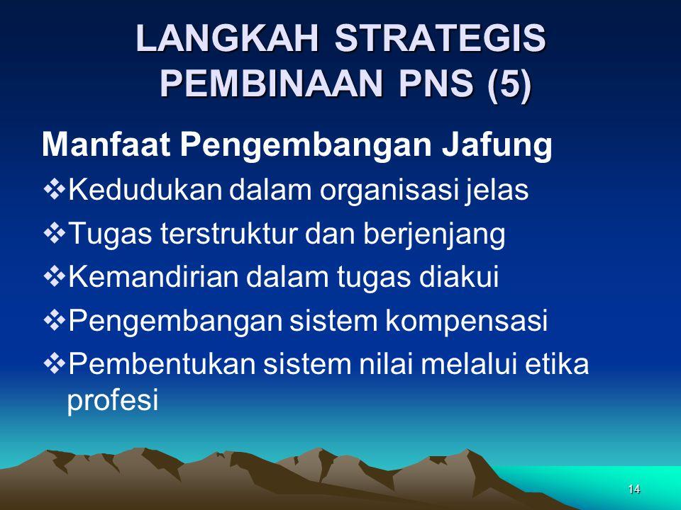 LANGKAH STRATEGIS PEMBINAAN PNS (5)