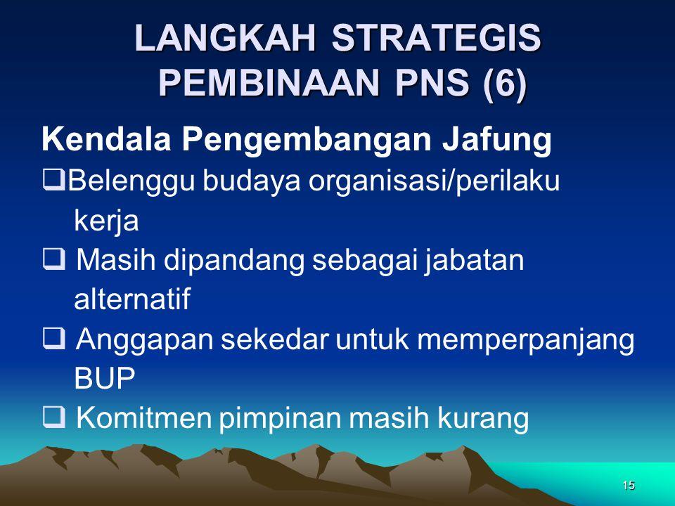 LANGKAH STRATEGIS PEMBINAAN PNS (6)