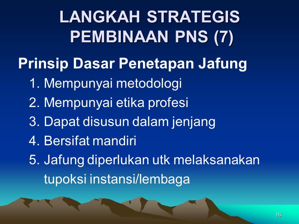 LANGKAH STRATEGIS PEMBINAAN PNS (7)