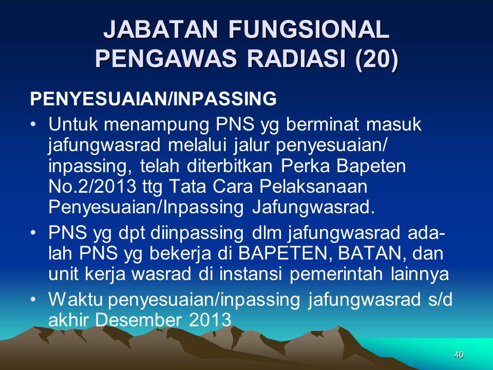 JABATAN FUNGSIONAL PENGAWAS RADIASI (20)