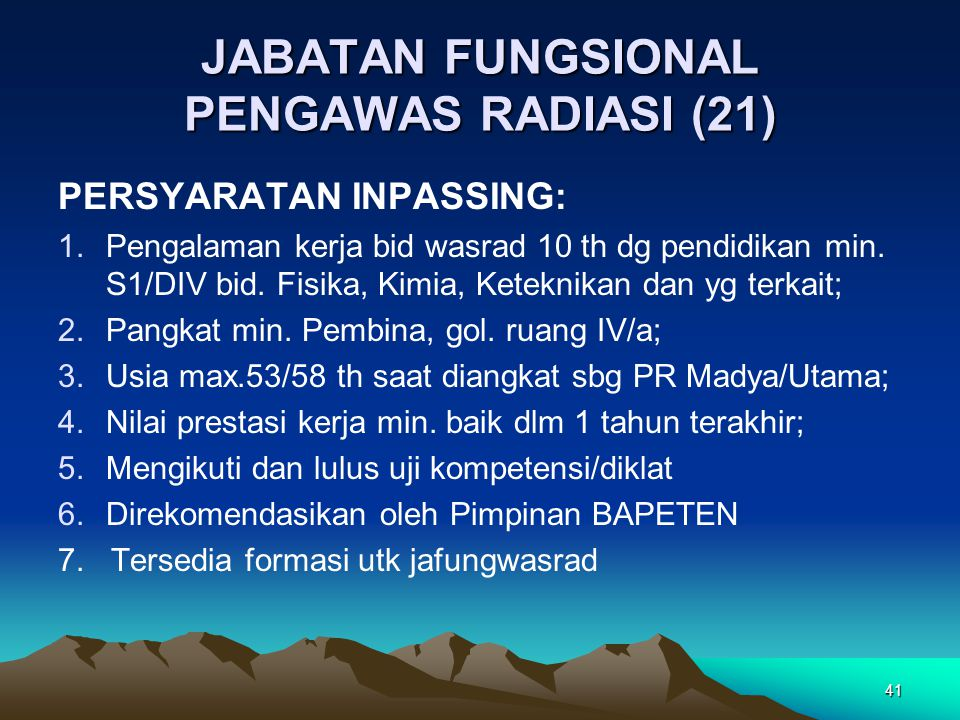 JABATAN FUNGSIONAL PENGAWAS RADIASI (21)